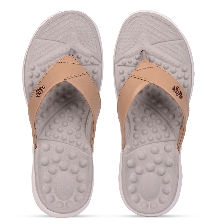 Liberty | Liberty A-HA Beige Slippers IMPACT-33E For - Women