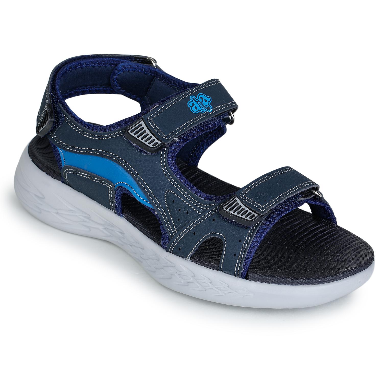Liberty | Liberty A-HA Blue Casual Sandals IMPACT-9_Blue For - Men