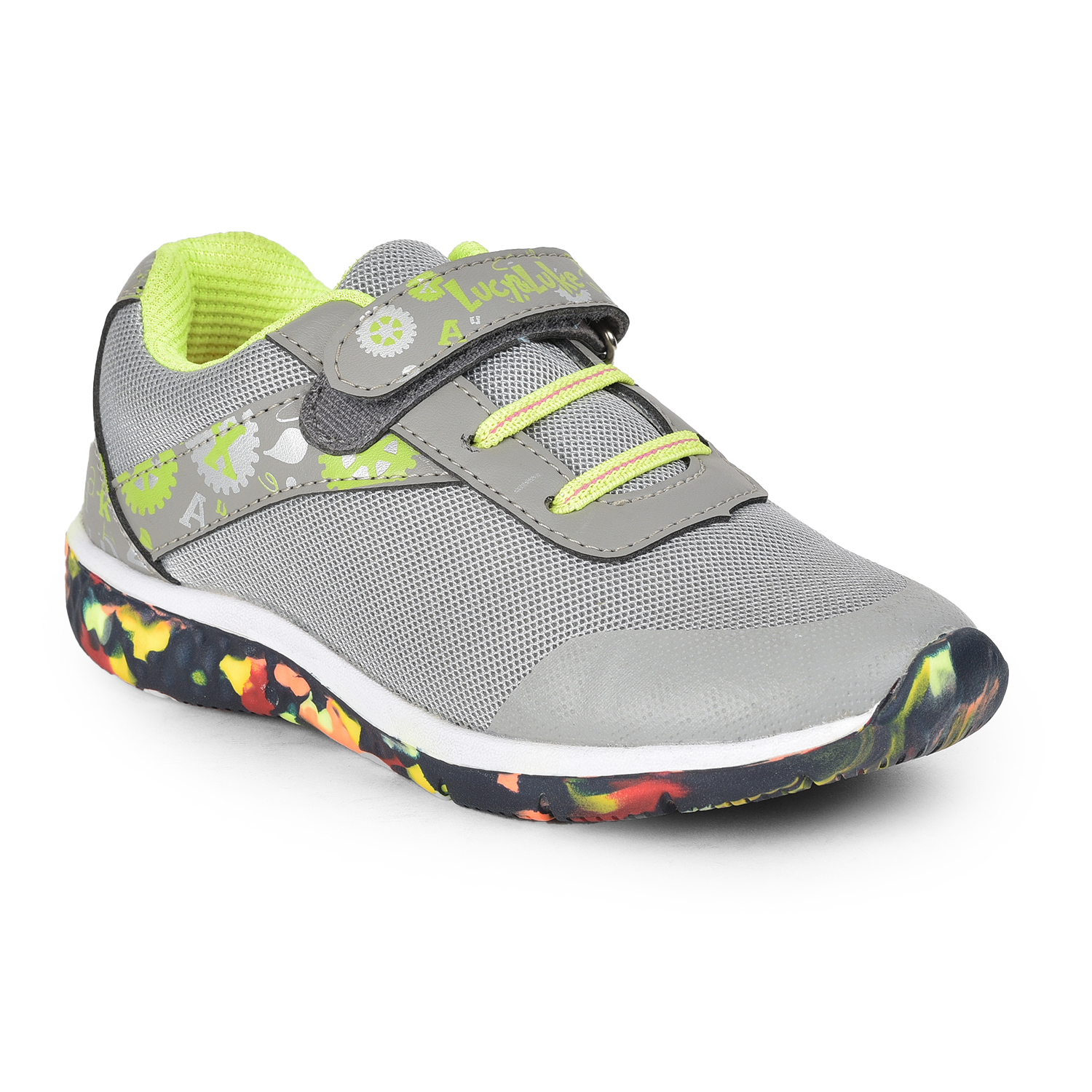 Liberty | Liberty LEAP7X Grey Casual Shoes JAMIE-108 For - Boys