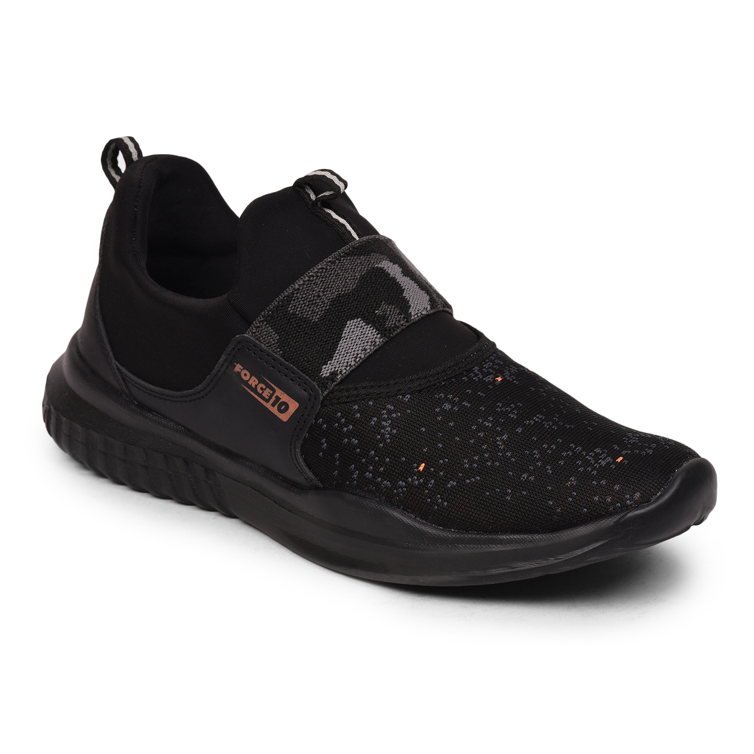 Liberty | Liberty Force 10 Black Sports Shoes JUDE For - Men