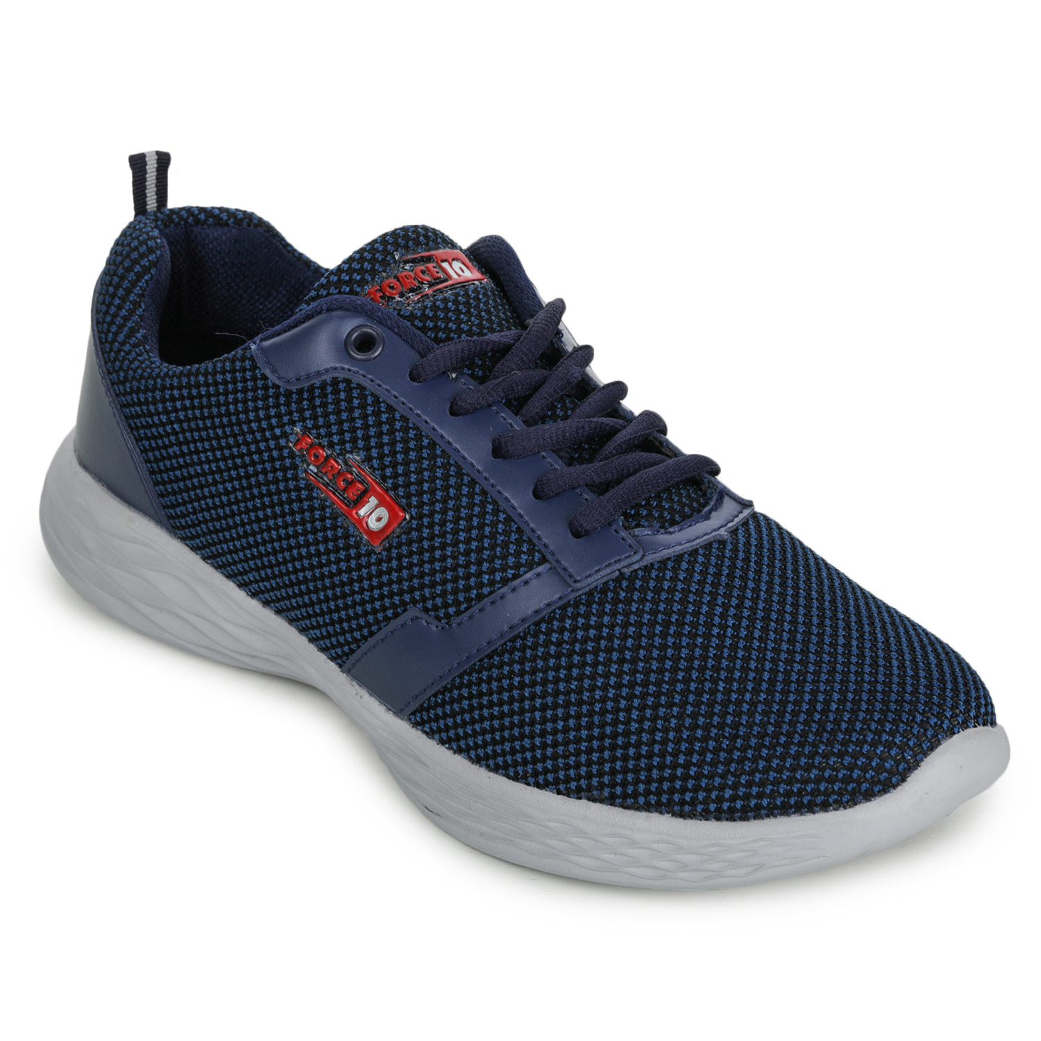 Liberty | Liberty Force 10 Blue Sports Running Shoes KENTO_Blue For - Men
