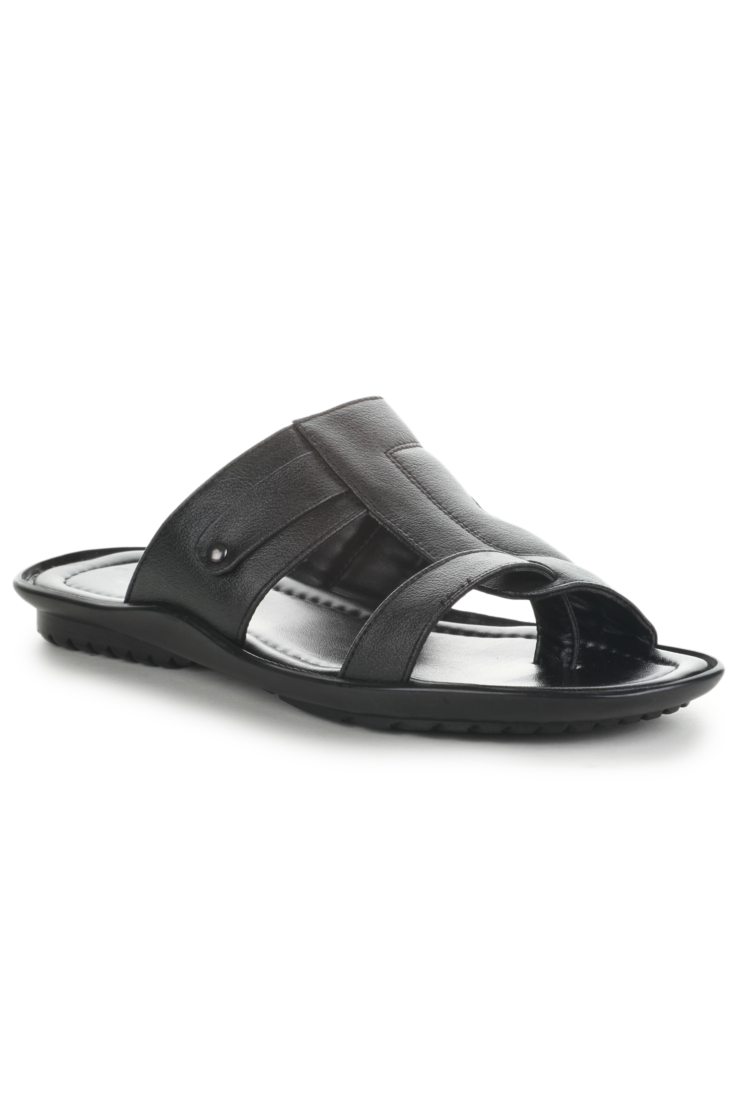 Liberty | Liberty Coolers Black Formal Slippers LAF-227_Black For - Men
