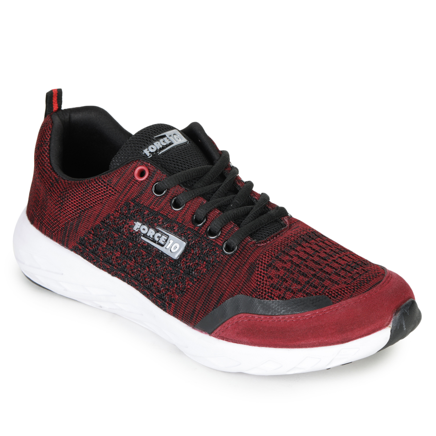 Liberty | Liberty Force 10 Red Sports Running Shoes LB161-01E_Red For - Men