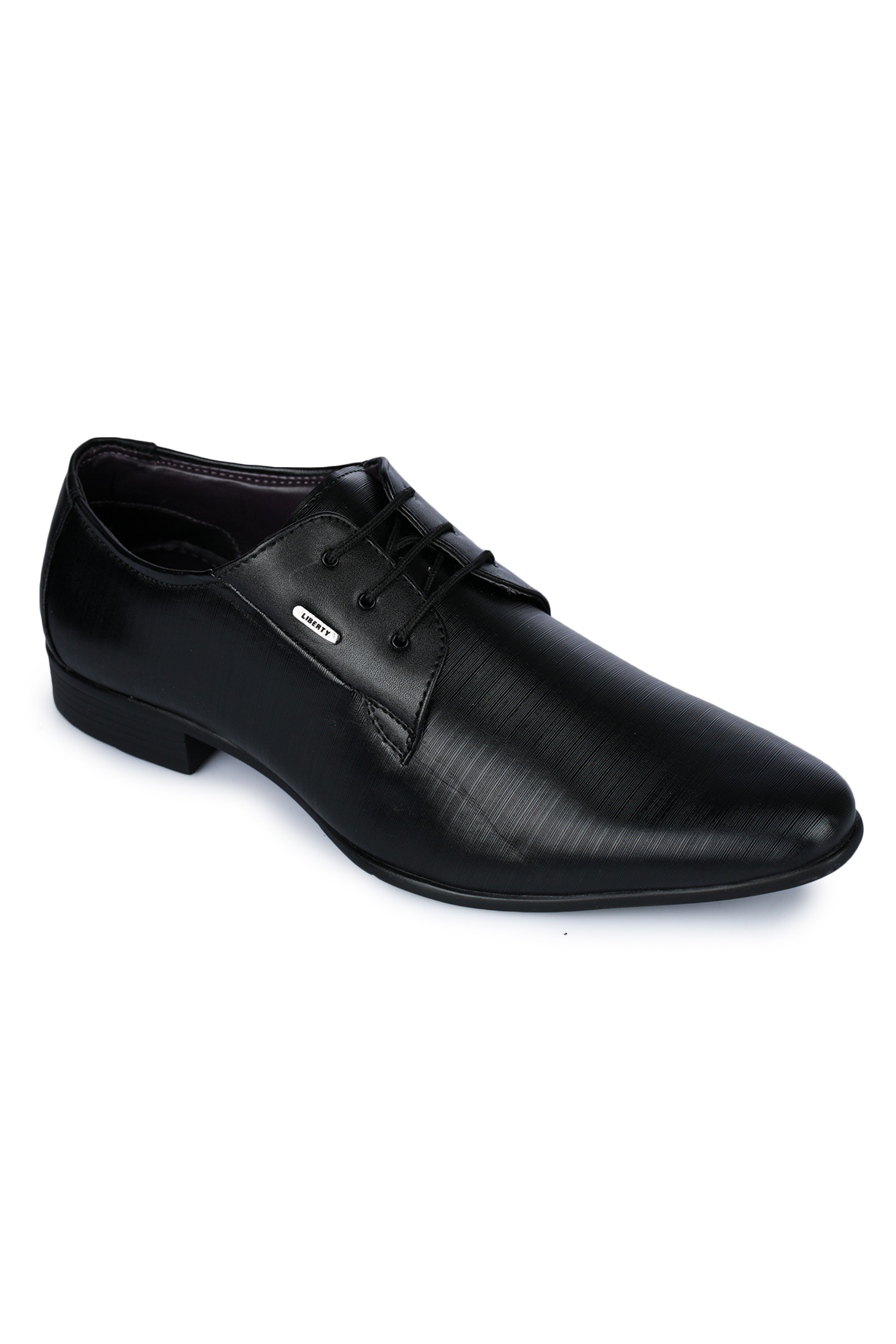 Liberty | Liberty Fortune Black Formal Derby Shoes LL-2003_Black For - Men