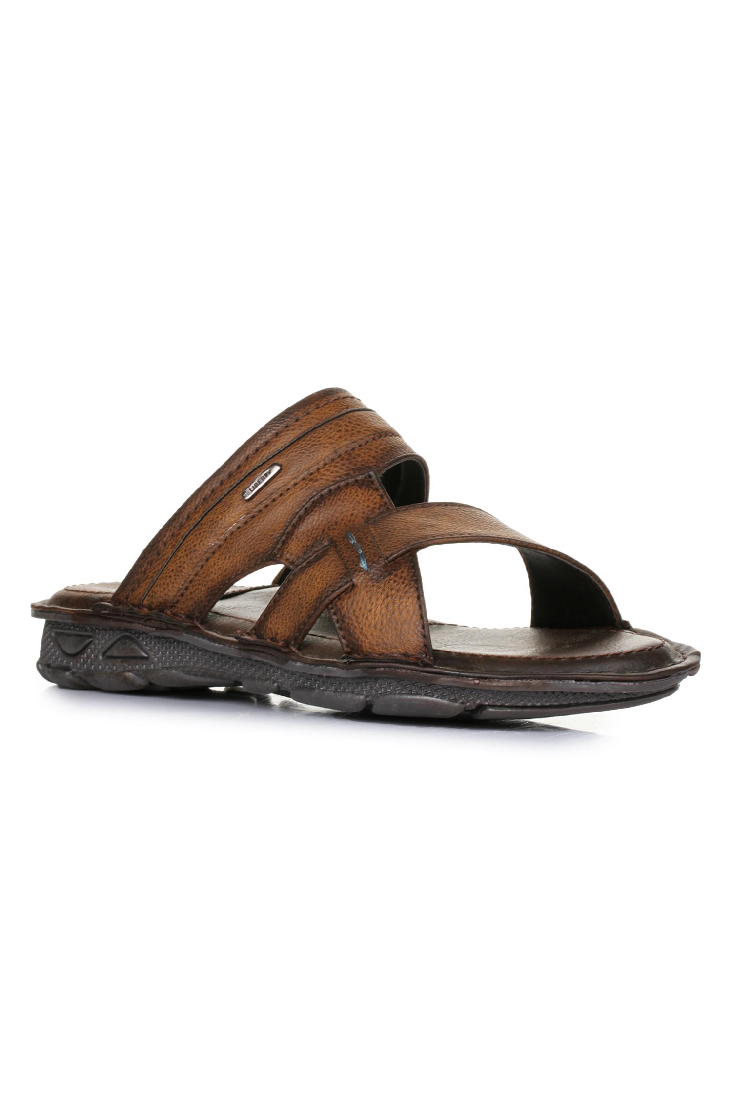 Liberty | Liberty Coolers Brown Casual Slippers LPC-4_Brown For - Men