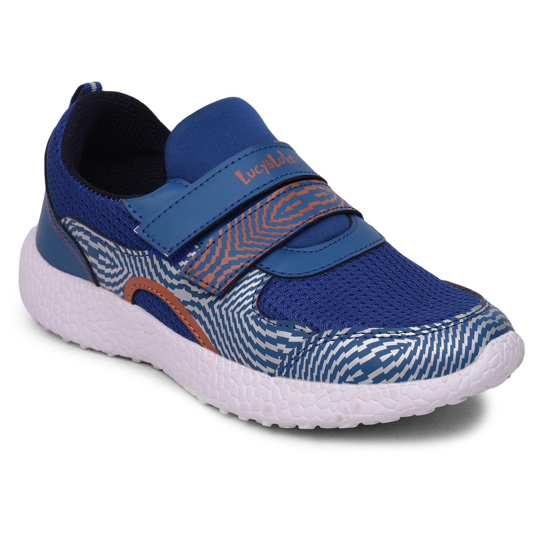 Liberty | Liberty Lucy & Luke Blue Sports Shoes LPM-K02 For - Boys