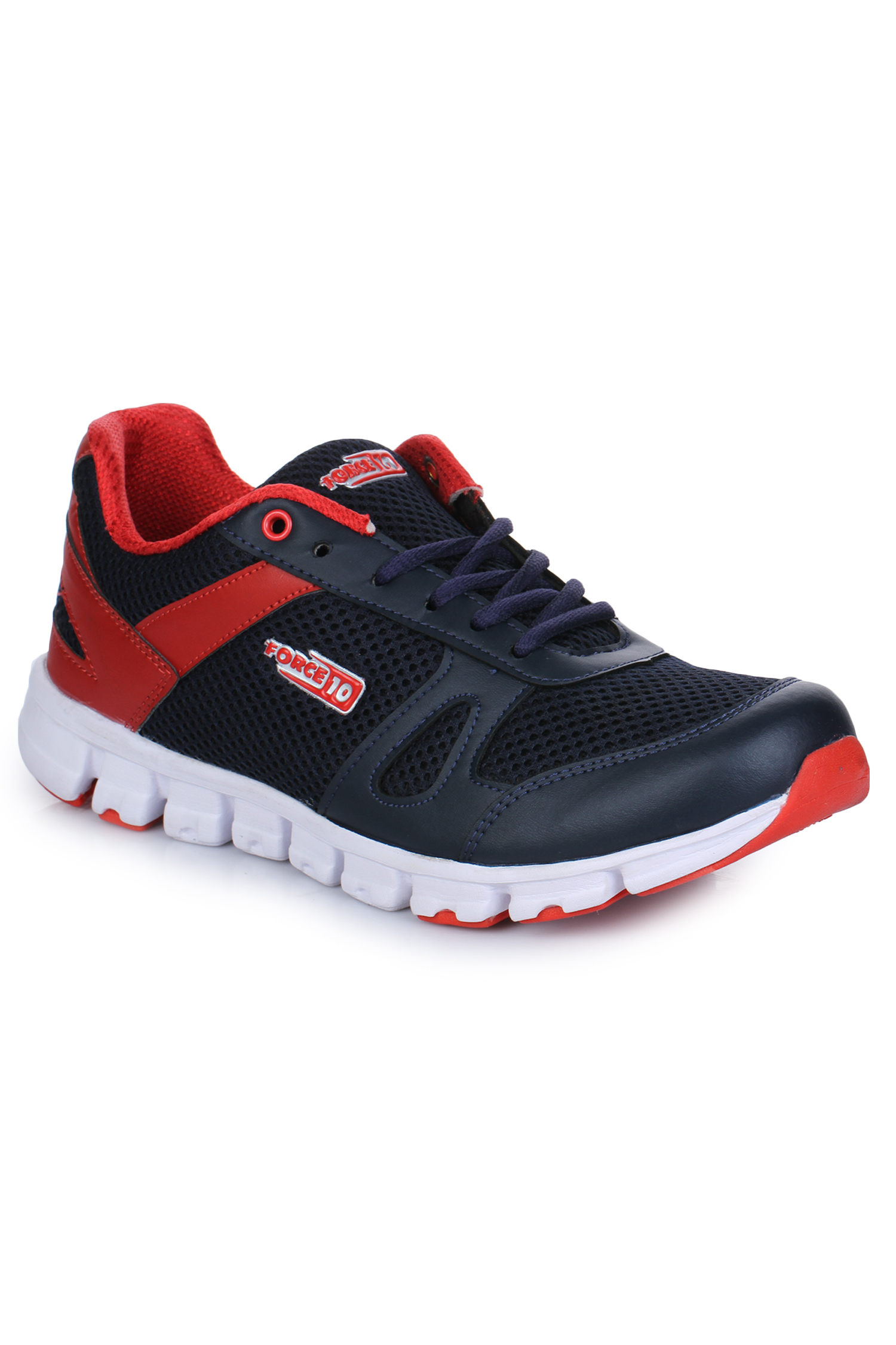 Liberty | Liberty Force 10 Red Sports Running Shoes LUCAS-1_Red For - Men
