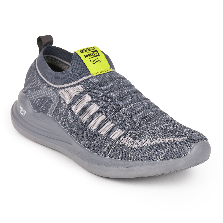 Liberty | Liberty Force 10 Grey Sports Wailking Shoes MADRID-2_Grey For - Men