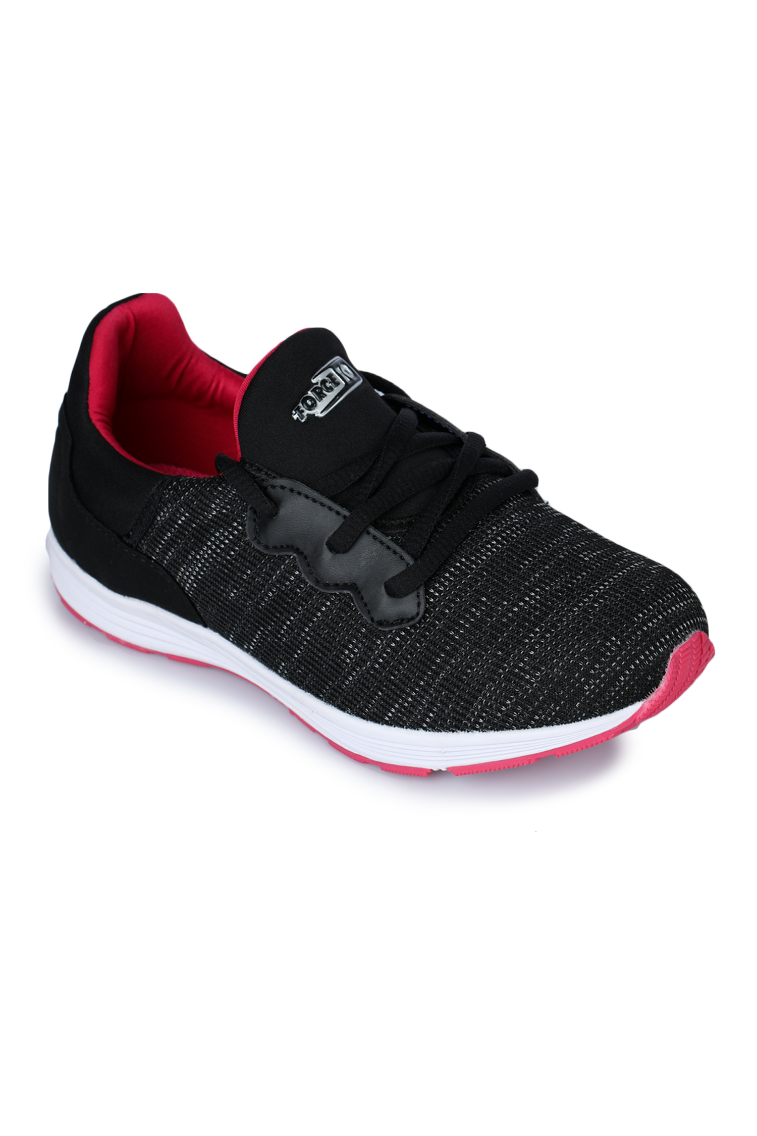 Liberty | Liberty Force 10 Black Sports Running Shoes MARTIE-2N_Black_3 For - Girls