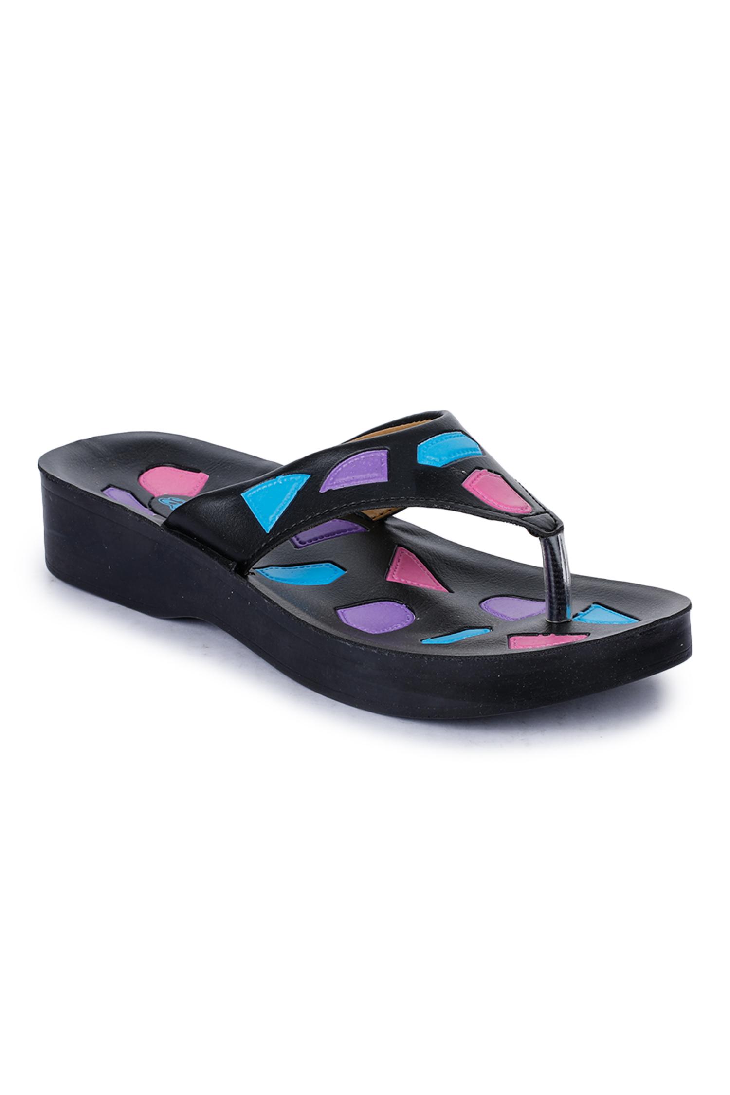 Liberty | Liberty A-HA Black Flip Flops NAPIER_Black For - Women