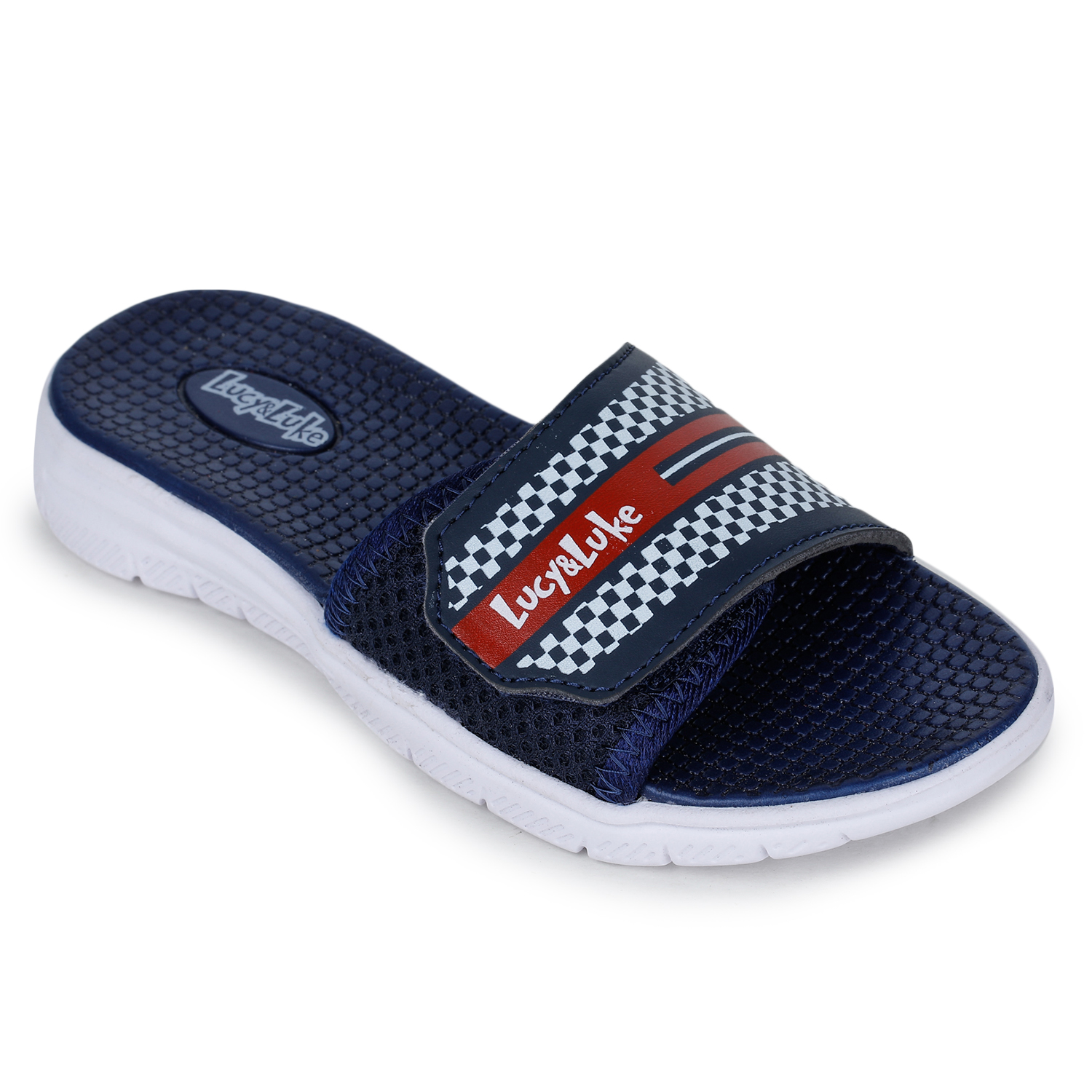 Liberty | Liberty Lucy & Luke Blue Casual Slippers OPPO-4S_Blue For - Boys
