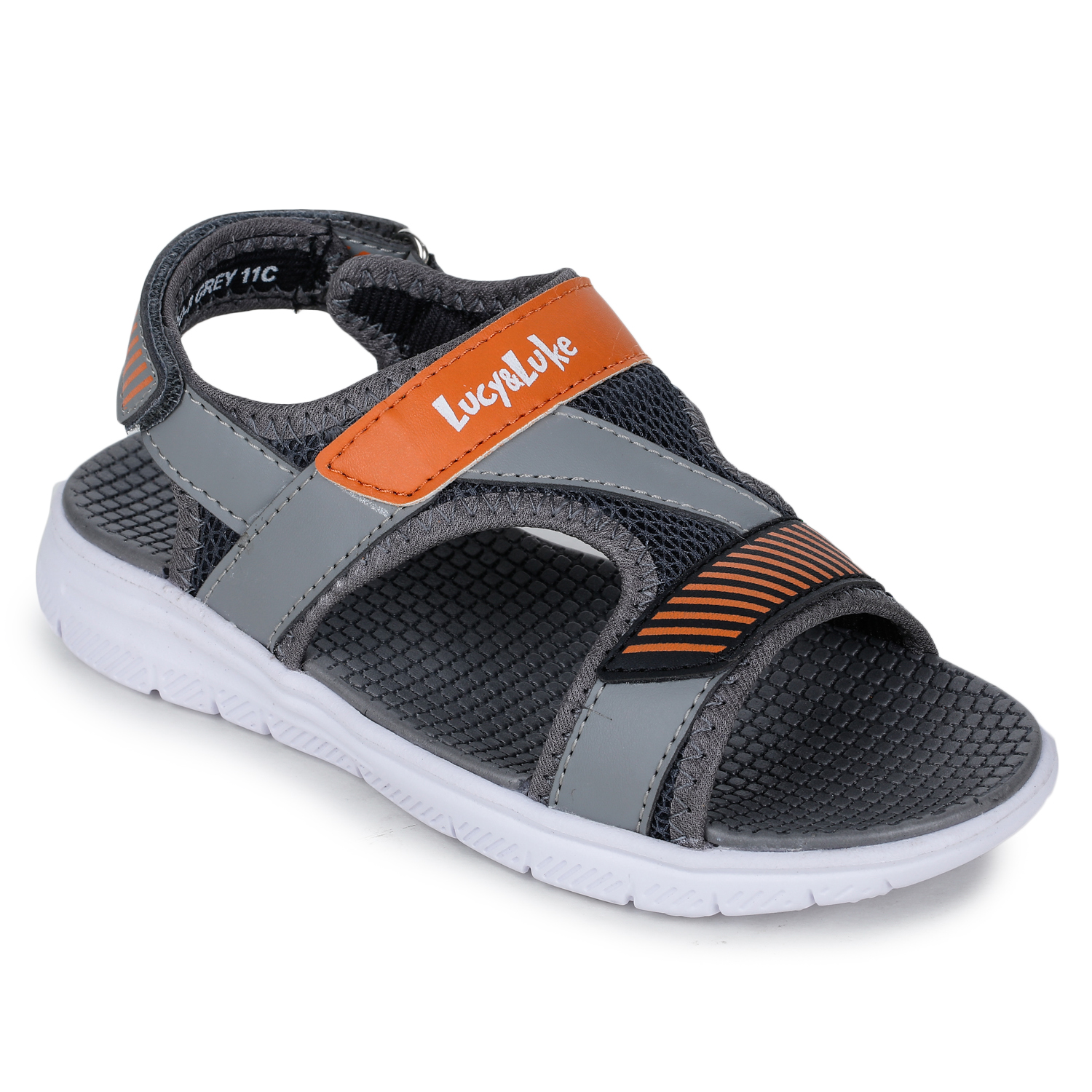 Liberty | Liberty Lucy & Luke Grey Casual Sandals OPPO-8_Grey For - Boys