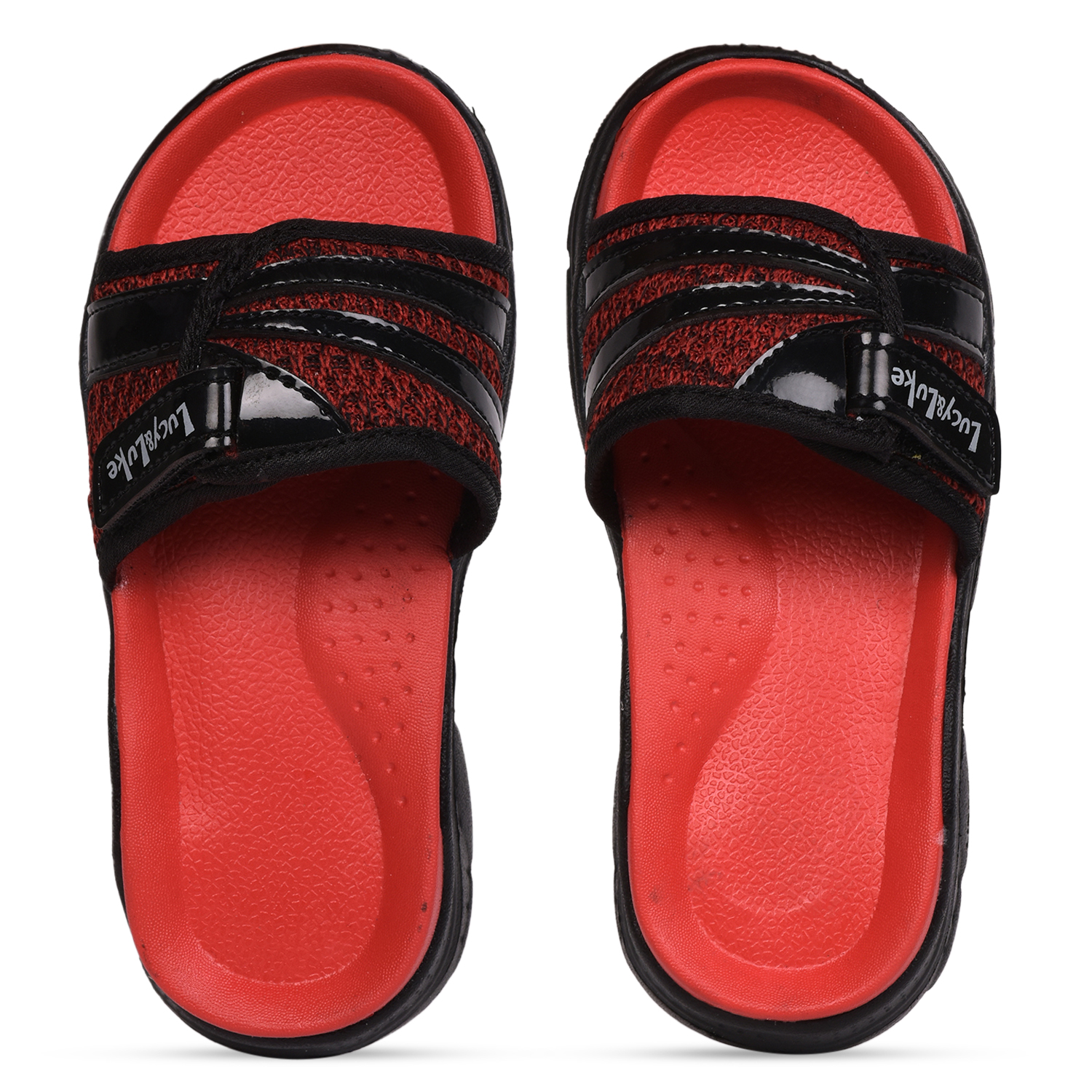 Liberty | Liberty Lucy & Luke Red Slippers RICKY-2S For - Boys