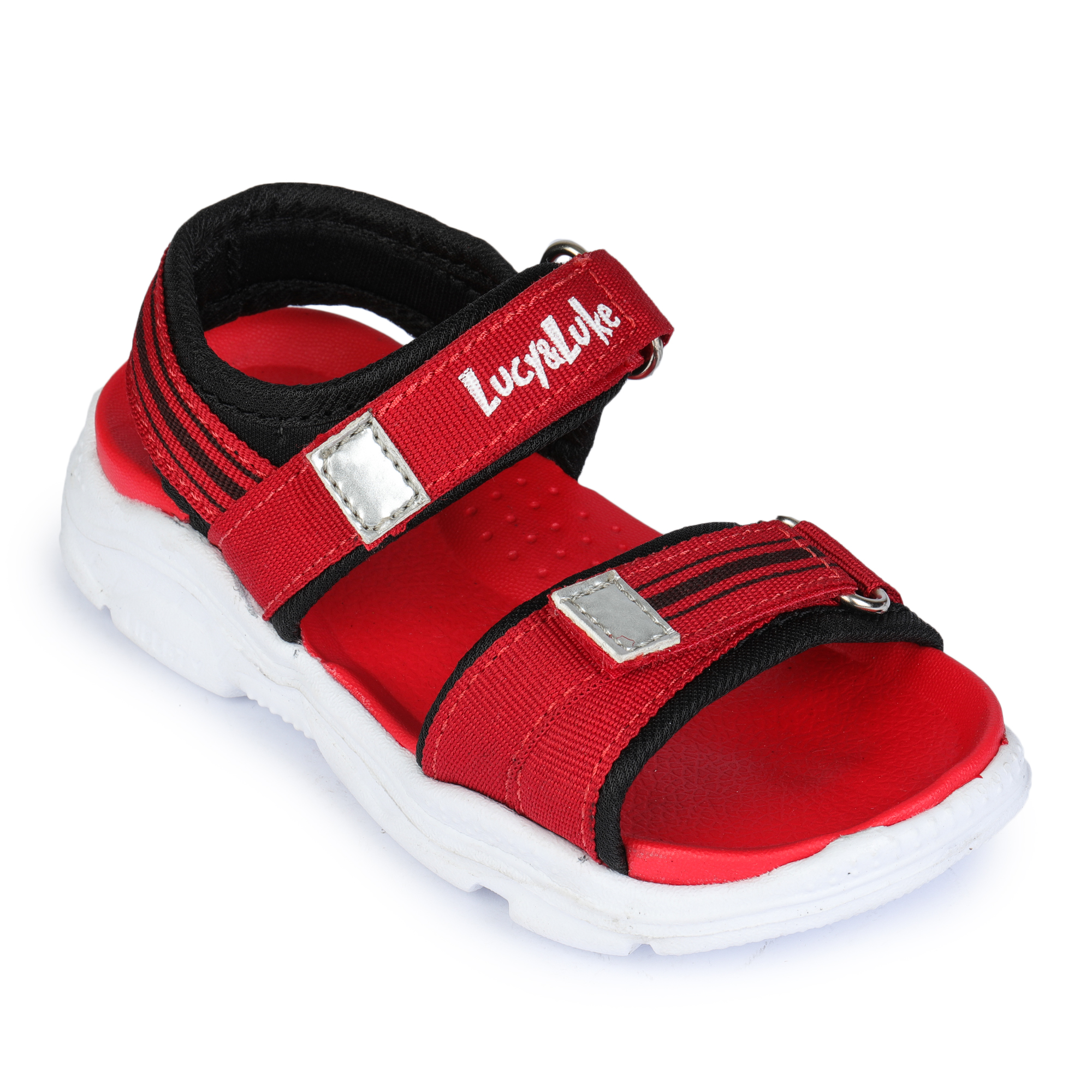 Liberty | Liberty Lucy & Luke Red Casual Sandals RICKY-7E_Red For - Boys