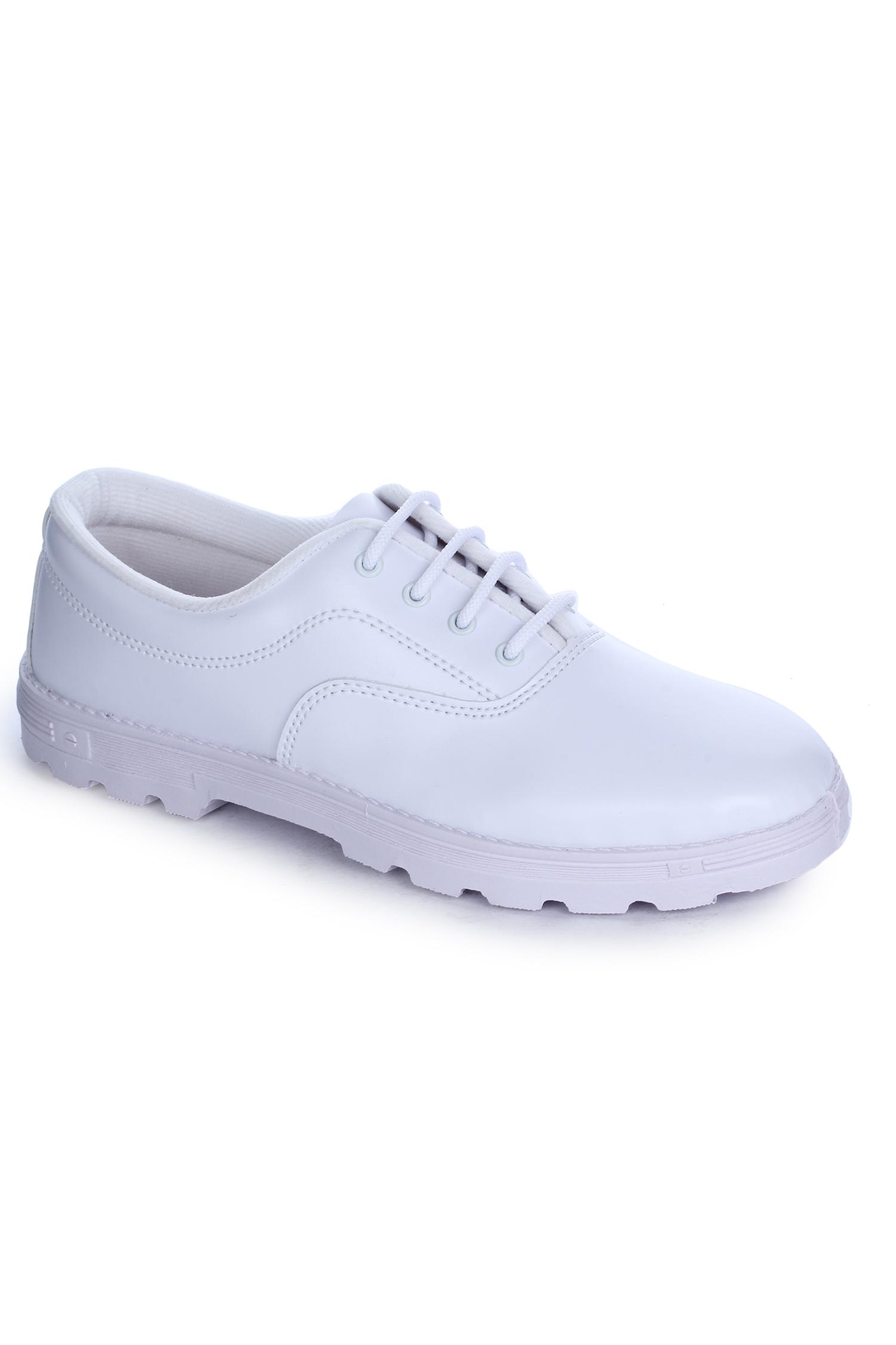 Liberty   Liberty Prefect White School Shoes S BOY A_White For - Men