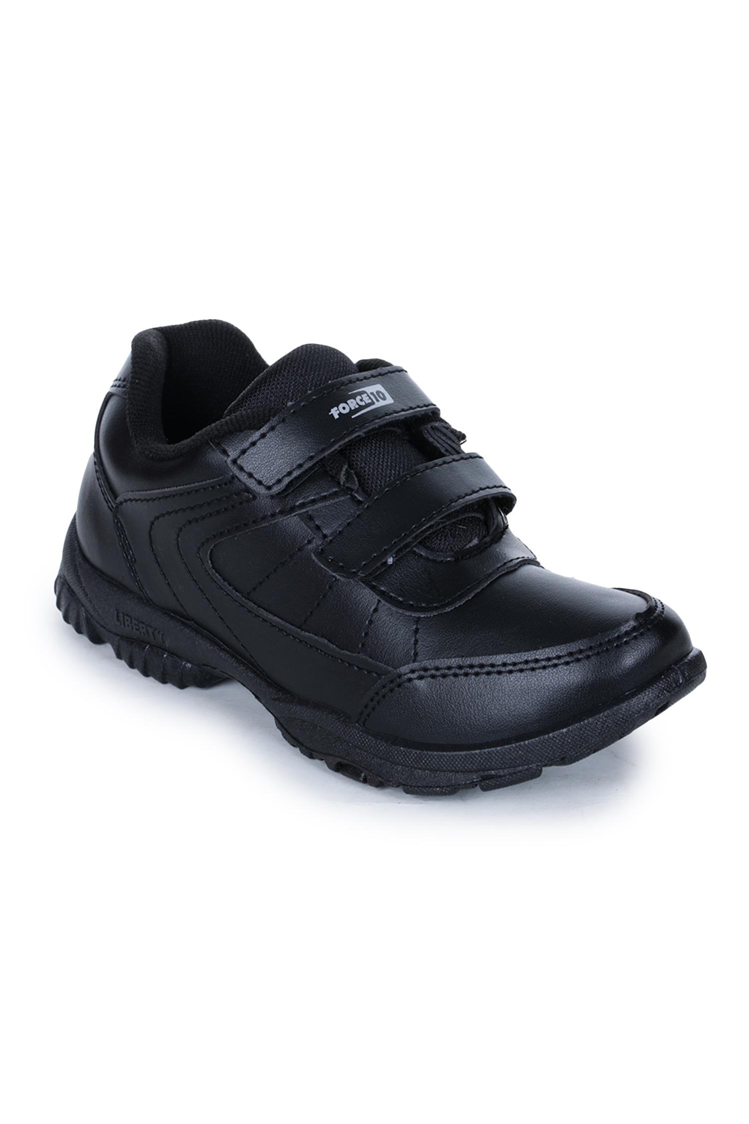 Liberty | Liberty Force 10 Black School Shoes SCHZONE-DV_Black For - Boys