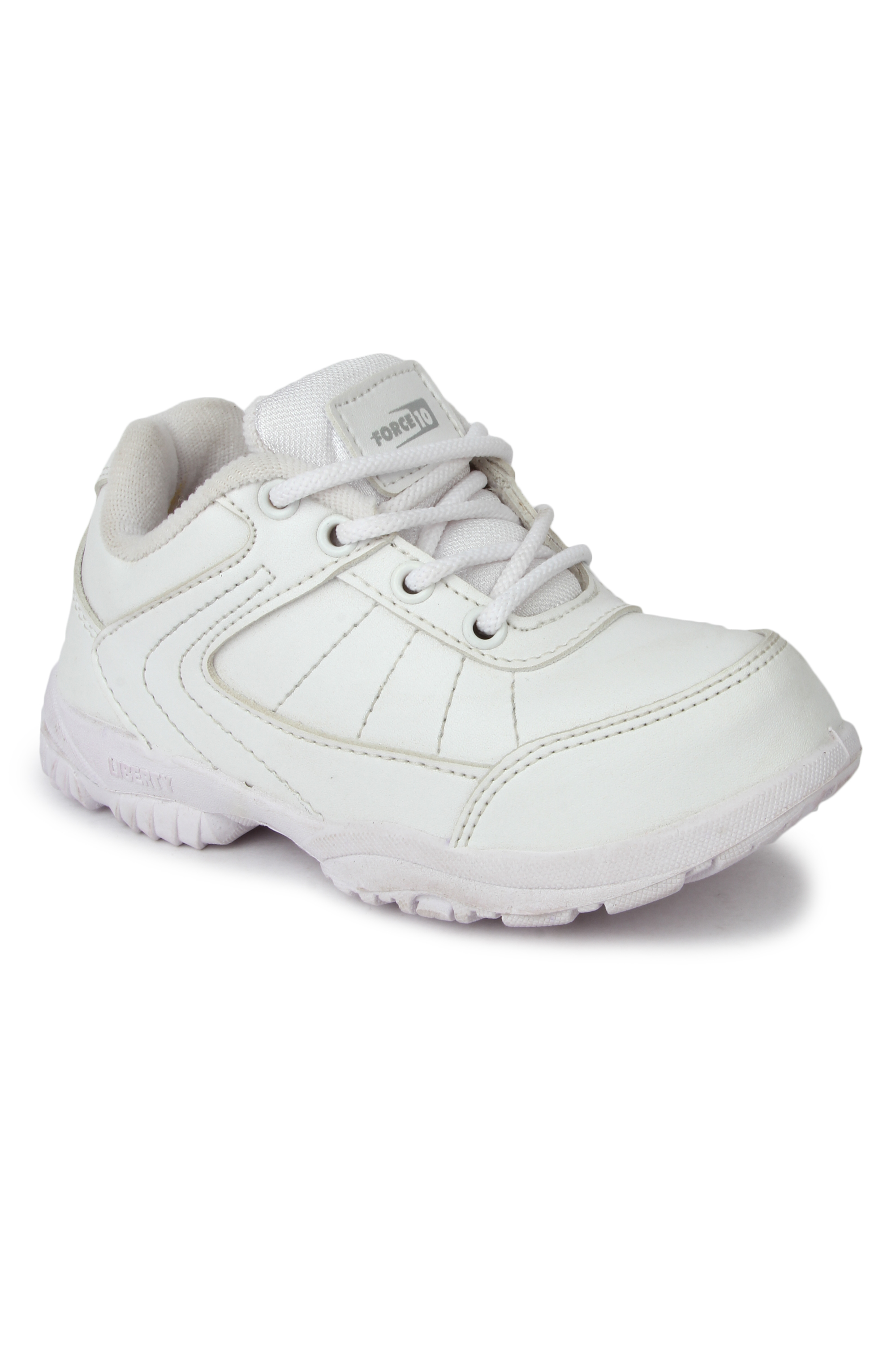 Liberty | Liberty Force 10 White School Shoes SCHZONE_White For - Boys
