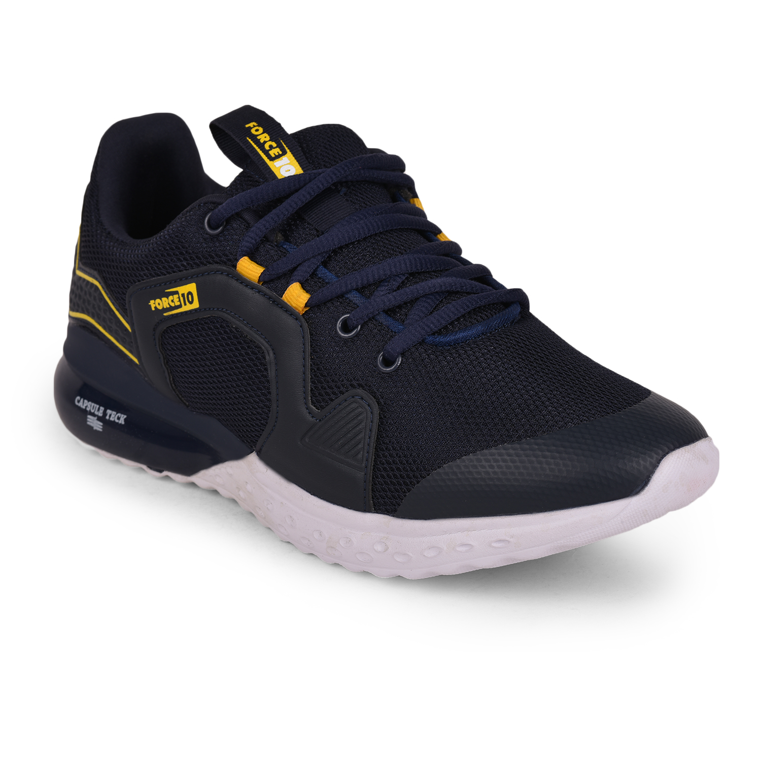 Liberty   Liberty Force 10 Blue Sports Running Shoes TOBY_Blue For - Men