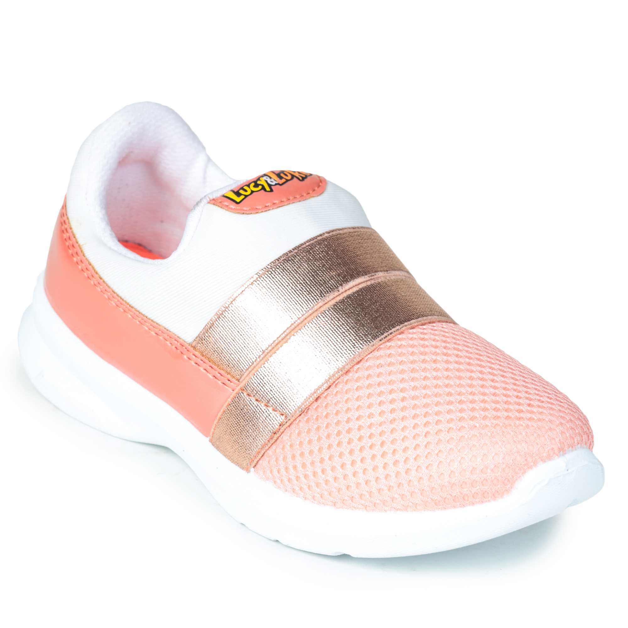 Liberty | Liberty LUCY & LUKE Casual Slip-ons TRDDY-09_PEACH For - Boys