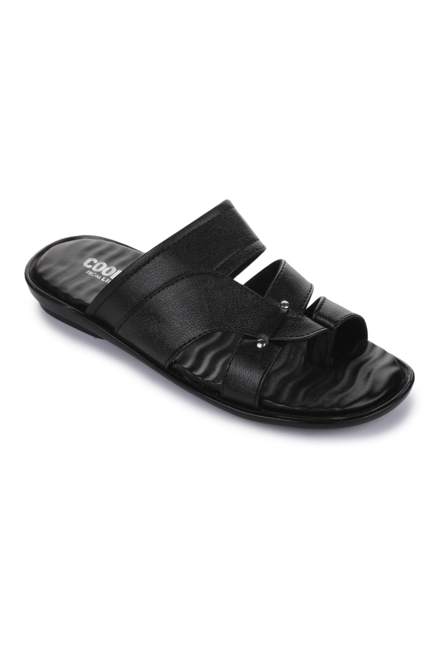 Liberty | Liberty Coolers Black Formal Slippers TRL-113_Black For - Men