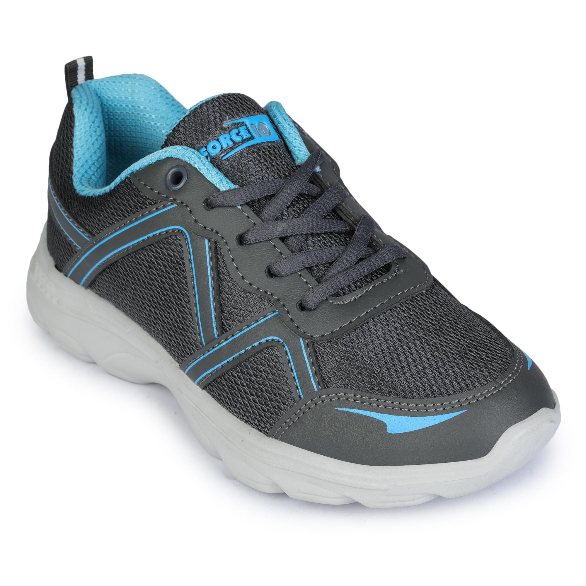 Liberty | Liberty Force 10 Grey Sports Running Shoes TRYON-NE_Grey For - Women