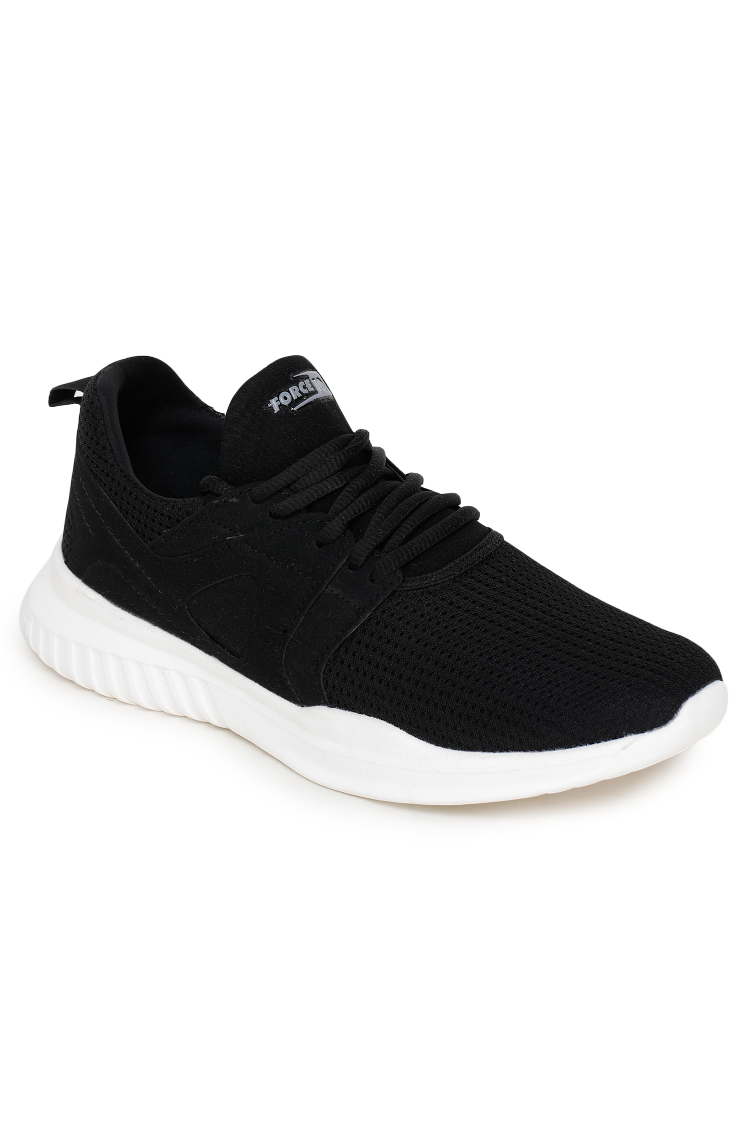 Liberty | Liberty Force 10 Black Sports Running Shoes VISION-9M_Black For - Men
