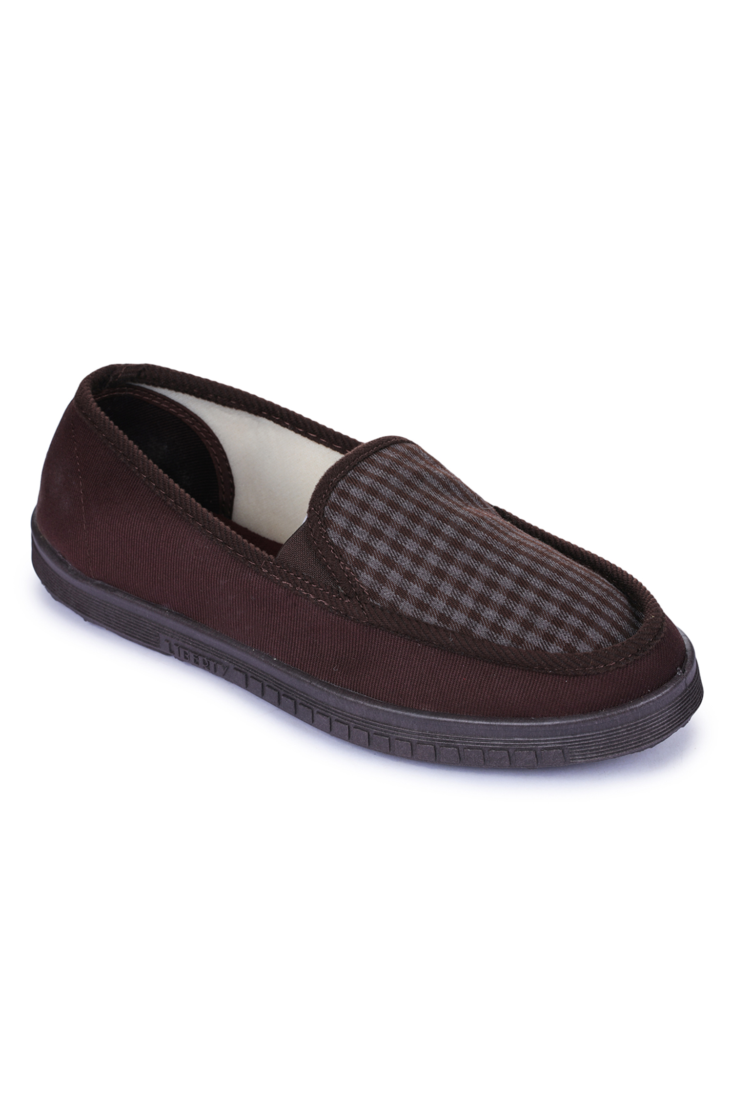 Liberty   Liberty Gliders Brown Casual Slip-ons WALKER-E_Brown For - Men