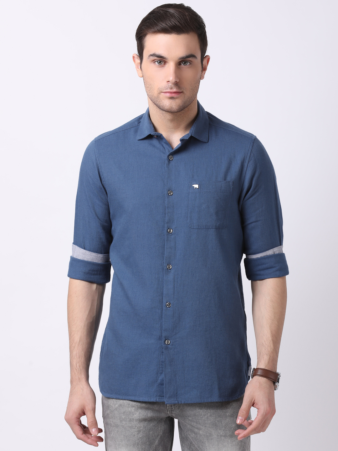 The Bear House | TBH Semi-Formal Washed Shirt