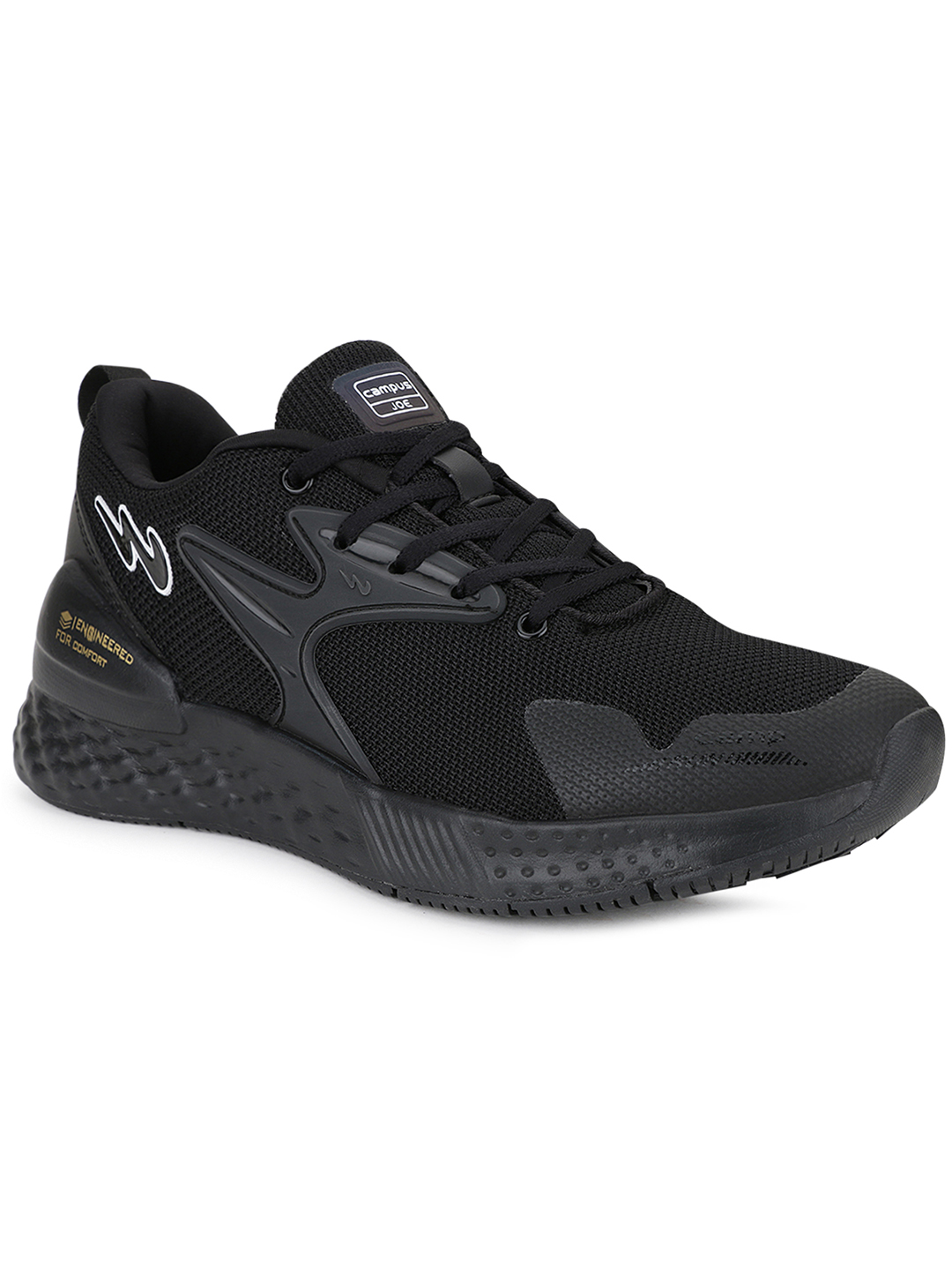 Campus Shoes | Black Simon Running Shoes
