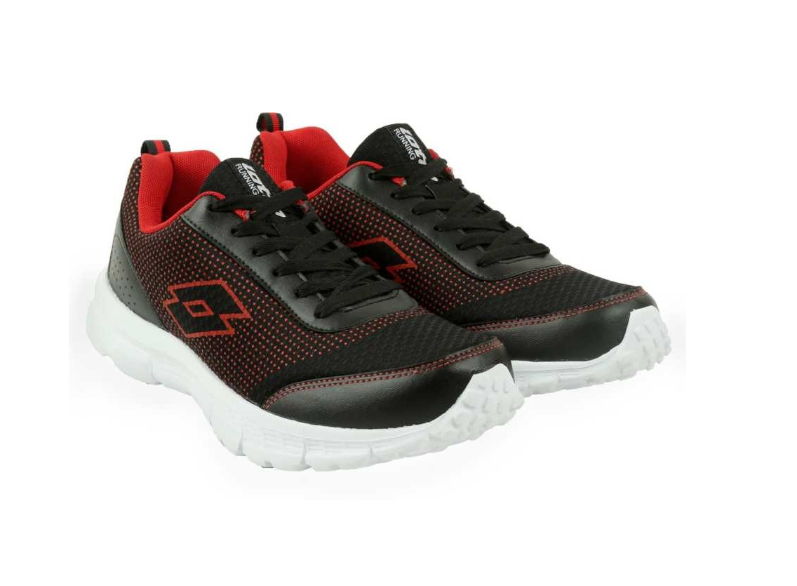 Lotto   Black Lotto Men Splash Running Shoes