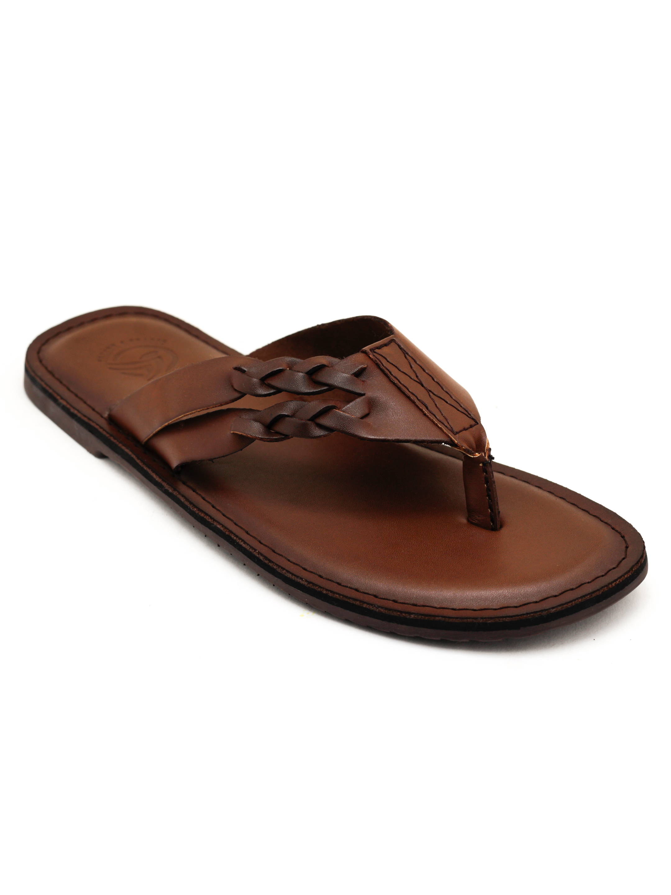 Trends & Trades | Mens Brown Thong Sandals
