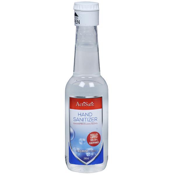 A Raymond Initiative | Raymond ActiSafe Hand Sanitizer - 200 ml