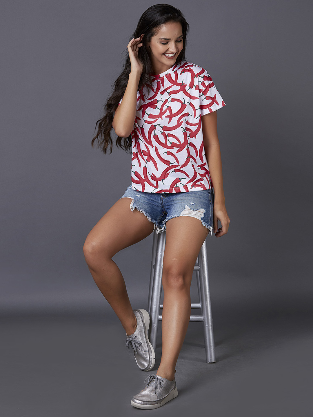 MARCA DISATI | All-Over Printed T-Shirt