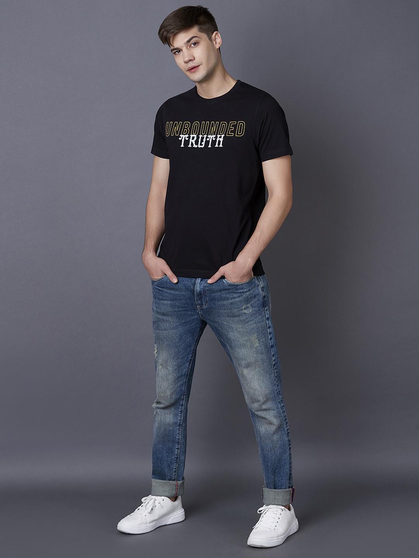 MARCA DISATI | Typographic Print T-Shirt