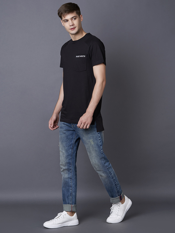 MARCA DISATI | Black Printed T-Shirt