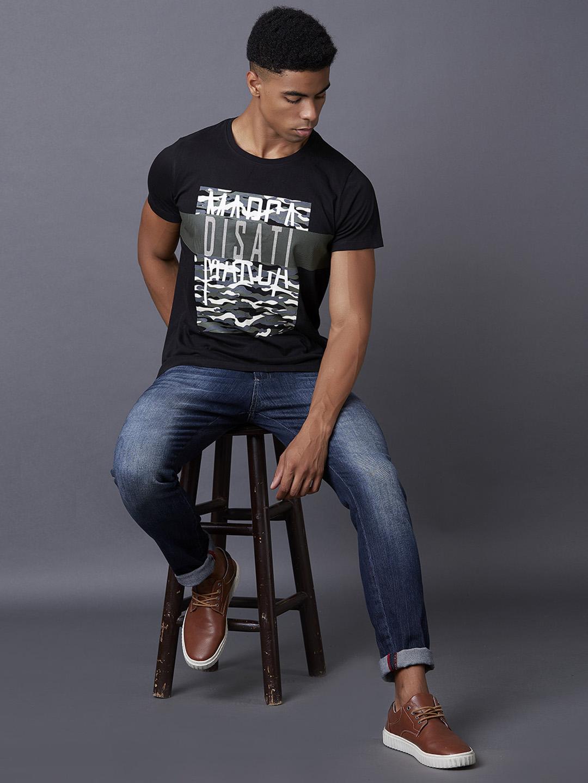 MARCA DISATI | Multiple Print Brand T-shirt