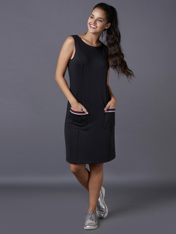 MARCA DISATI | Solid Bodycon Dress