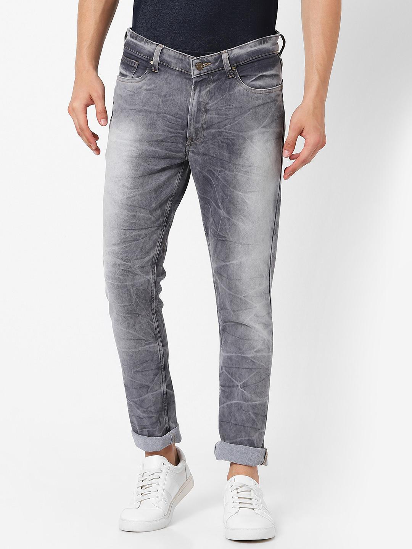MARCA DISATI   Skinny Vintage Crackle Effect Jeans
