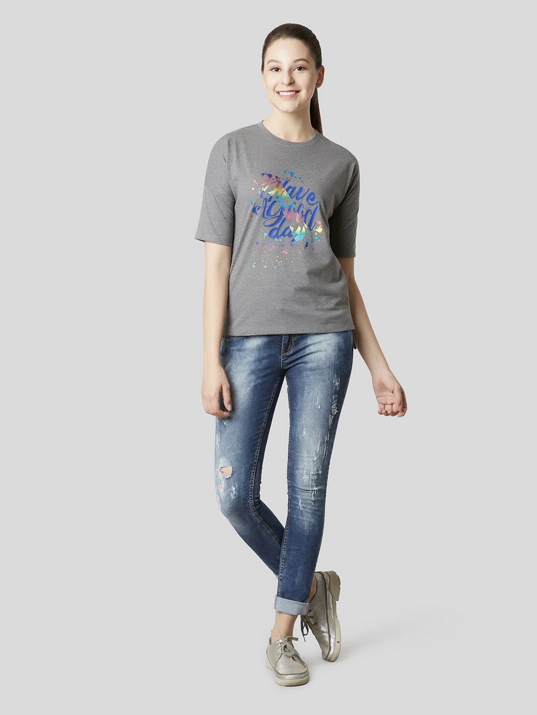 MARCA DISATI | Drop Shoulder Graphic T-shirt