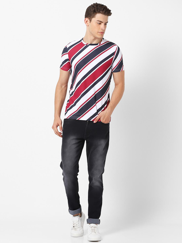 MARCA DISATI | Diagonal Stripes T-shirt