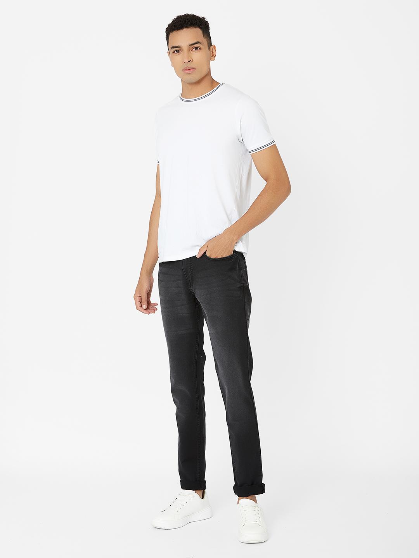 MARCA DISATI | Knitted Dark Wash Jeans