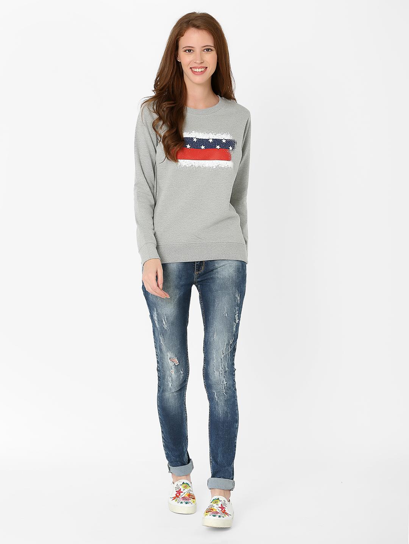 MARCA DISATI | Flag Print Sweatshirt