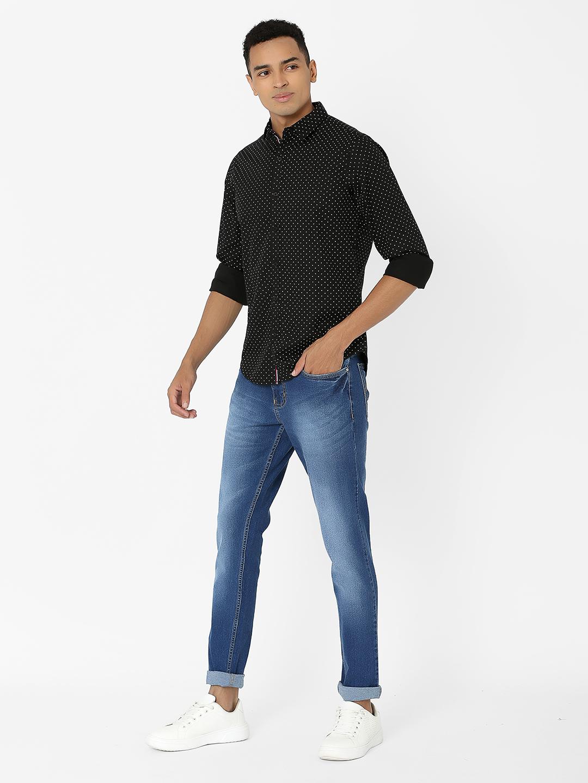 MARCA DISATI   Slim Fit Printed Shirt