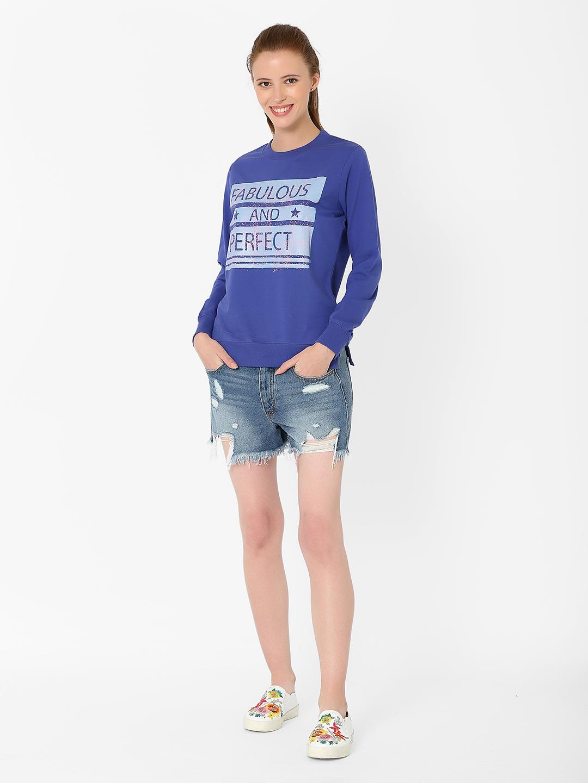 MARCA DISATI   Graphic Chest Printed Sweatshirt