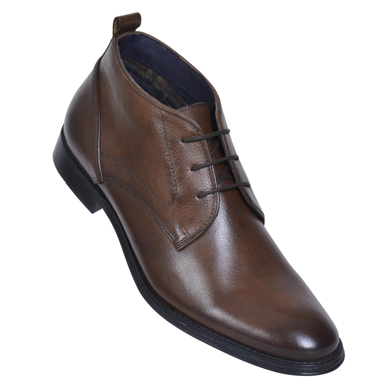 MASABIH   MASABIH Genuine Leather Men's Tan Chukka Boots