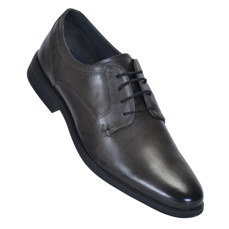 MASABIH   MASABIH Genuine Leather Men's GREYLace-Up Formals