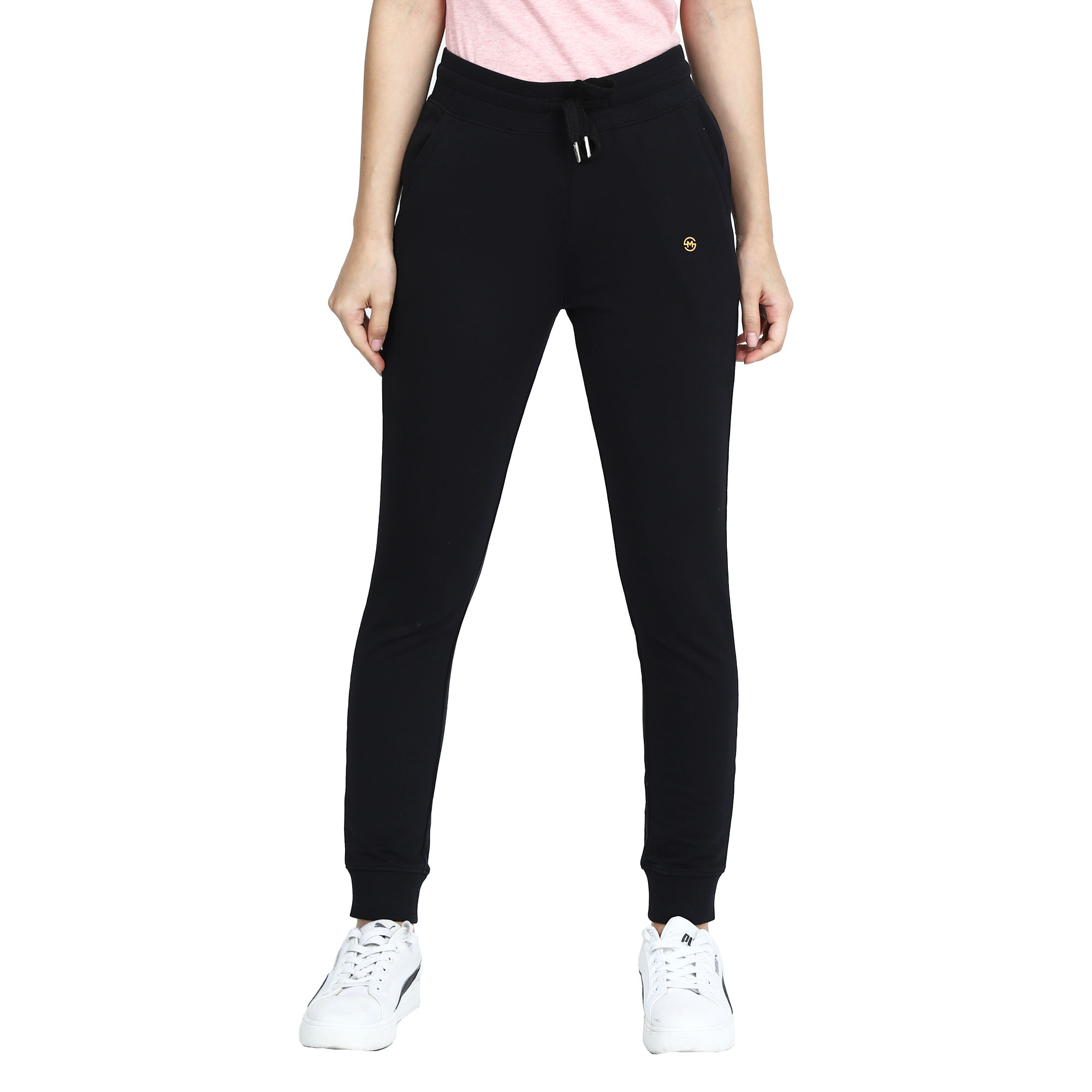 MAYSIXTY | Maysixty Women's Cotton Solid Track Pent