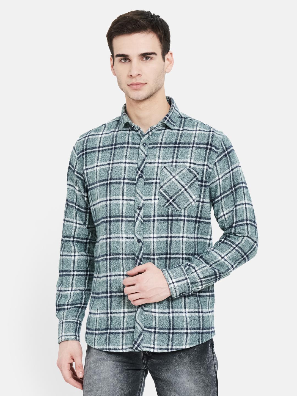 METTLE   Men BASIL Casual Shirts