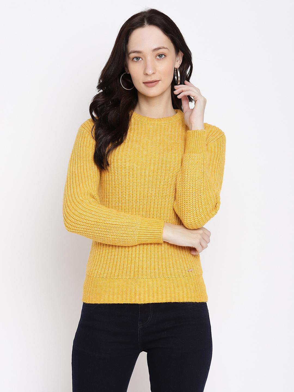 METTLE | Women MUSTARD Sweaters