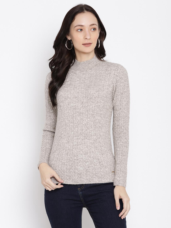 METTLE | Women BEIGE Sweaters